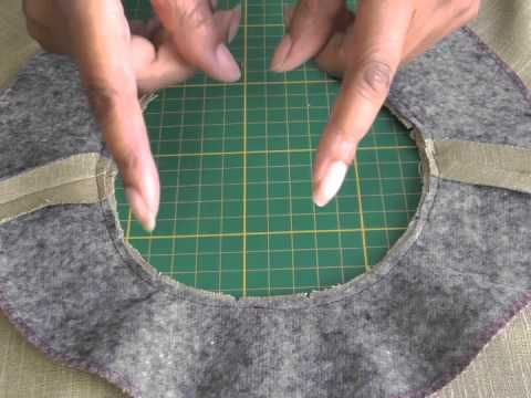 Sewing Facing to Curved Necklines.  A FREE article, guide and fashion sewing video tutorial, only at http://www.fashionsewingblog.com