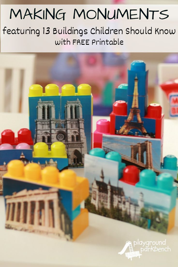 Classic building blocks abel building solutions - Famous Monuments 13 Buildings Children Should Know With Free Printable