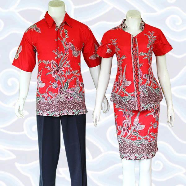 setelan batik sarimbit SB224 selengkapnya di http://sekarbatik.com/setelan-batik-rok-blus/