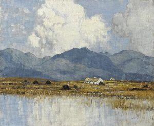 """""""Western Irish Landscape,""""  by Paul Henry"""