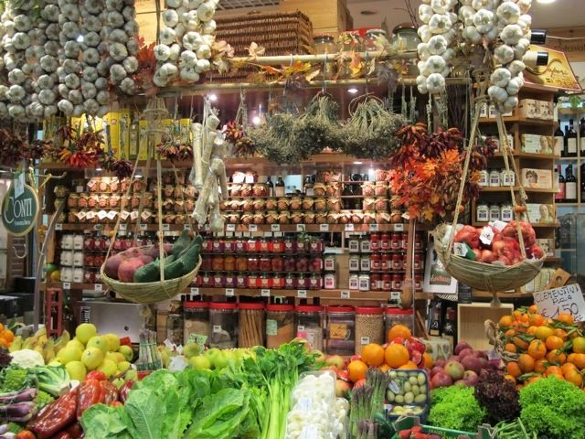 Florence vers voedsel bij Mercato Centrale