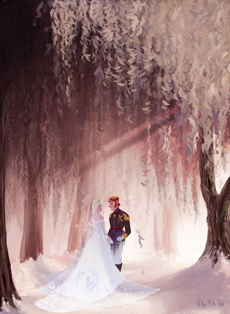 I Just Wanted to Make You Something Beautiful by naima - Hans and Elsa