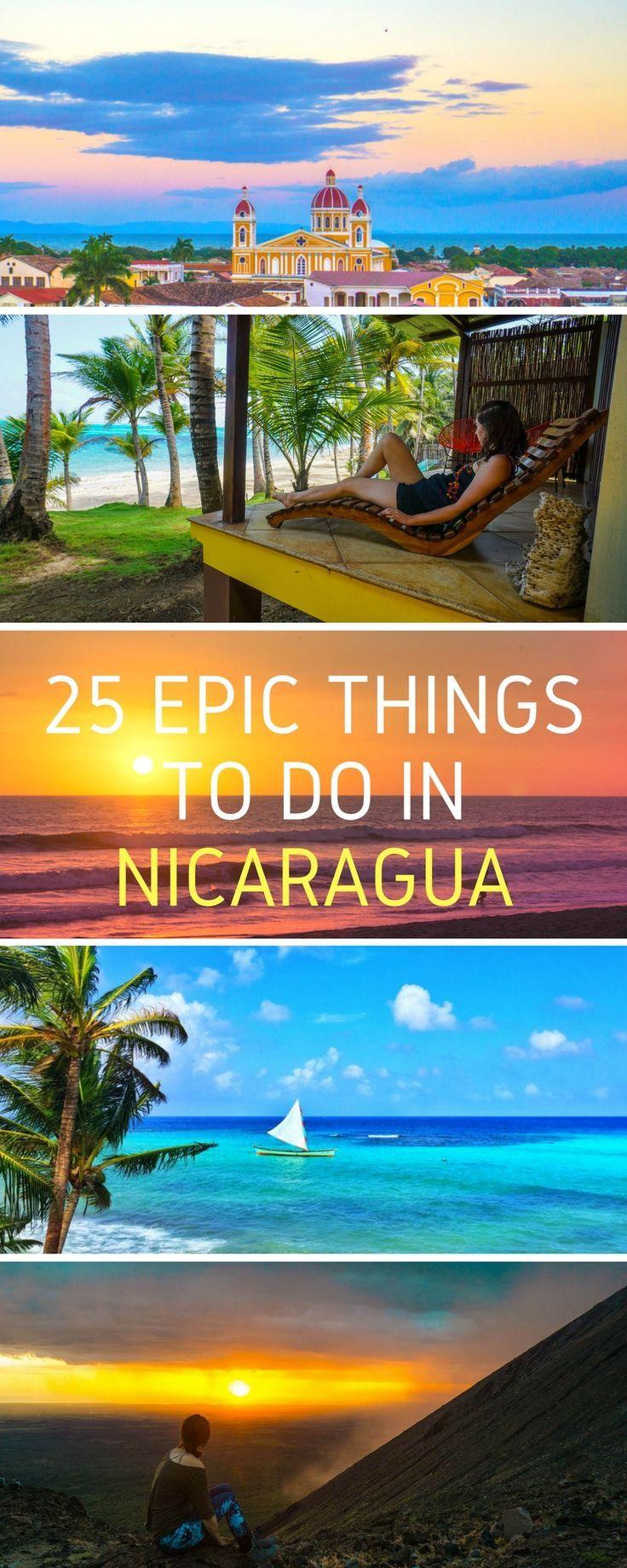 Bucket list adventures abound in Nicaragua! Surf in San Juan de Sur, scuba on Little Corn, board down active volcanoes in Leon, and admire the colonial beauty of Granada.