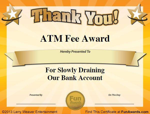 Best 25 funny certificates ideas on pinterest fun awards for best 25 funny certificates ideas on pinterest fun awards for employees employee awards and fun awards yelopaper Choice Image