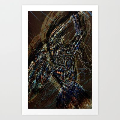 Motion Art Print by Shane R. Murphy - $17.00