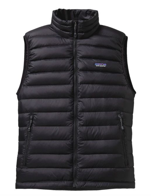 Patagonia Men's Down Sweater Vest - Black