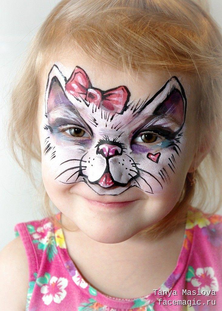 Картинки котов на лицо