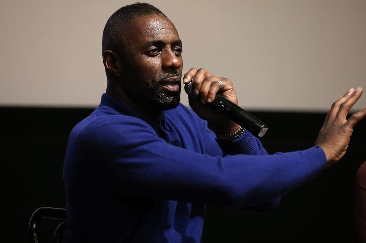 British actor Idris Elba, promoting BBC America's Luther earlier this month – he's now been nominated for a Golden Globe Award for the role