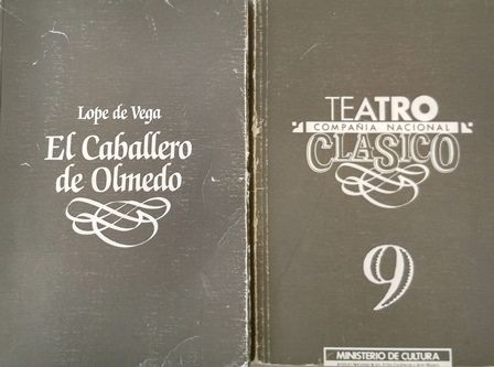El caballero de Olmedo / Lope de Vega ; versión de Francisco Rico - Madrid : Compañía Nacional de Teatro clásico, D.L. 1990