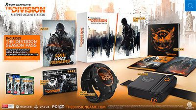 Tom Clancy's The Division Sleeper Agent Edition PS4 *NEW!* + Warranty!