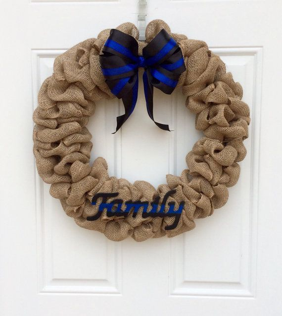 Police Family Wreath ; LEO wreath