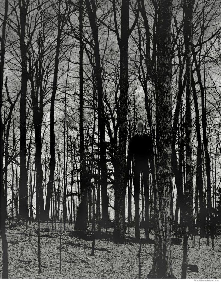 The 10 Creepiest Pictures Of Slender Man