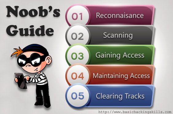 Noob's Guide: The Basics – Hacking Methodologies
