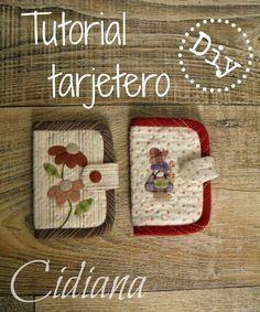 Cidiana: Prestar en positivo: tutorial tarjetero!!!