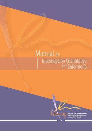 Acceso gratuito. Manual de investigación cuantitativa para enfermería