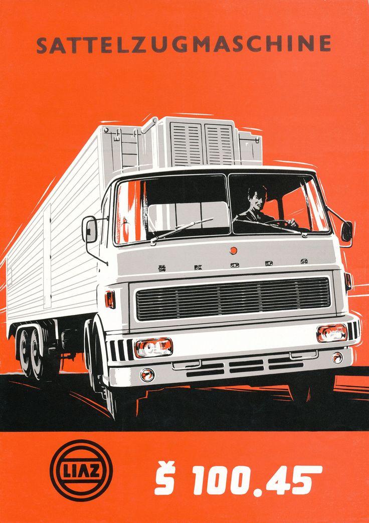 LIAZ Flyer Š 100.45 (1974) | Flickr - Photo Sharing!