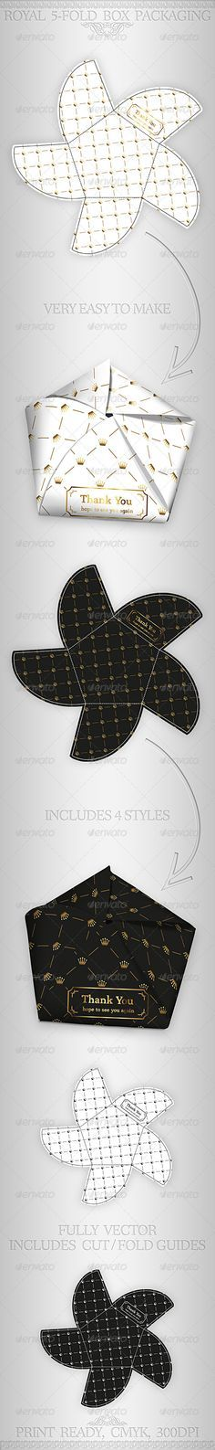 Royal Gift Package Box Template - GraphicRiver Item for Sale