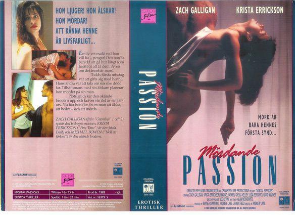 """MÖRDANDE PASSION"" (""Mortelles passions"" & ""Mortal Passions"" (""IMAGE ORGANIZATION""), 1989), PAL VHS, Egmont/""Columbia Tristar Home Video"", ""Suède Union européenne"", ""France EU"", ""Sverige EU"", ""Sweden EU"", Ruotsi, Tukholma, Stockholm, ankkalammikko, erotik, ""erotic art"", ""Mark Ryden"", ""lynx tattoo"", ""gothic metal"", ""punk girls"", ""Winona Ryder"", Jessicka, ""Freshie Juice"", nude, nue, ""sidereal astrology"", ""Scorpio sign"", ""Pisces sign"", ""Aries sign"", ""Leo sign"", ""results of Brexit vote""…"
