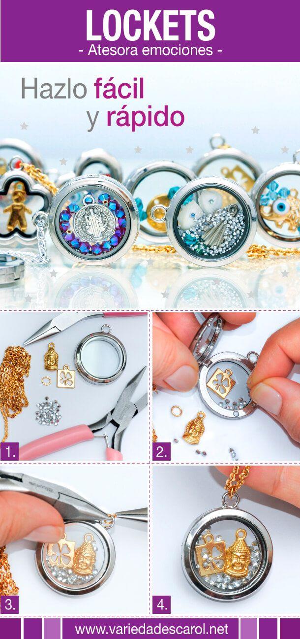 #hechoamano #bisutería #variedadescarol #accesorios #lockets #atesora #diseño