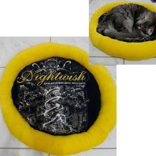 Nightwish Band Shirt Cat Bed DIY Symphonic Metal