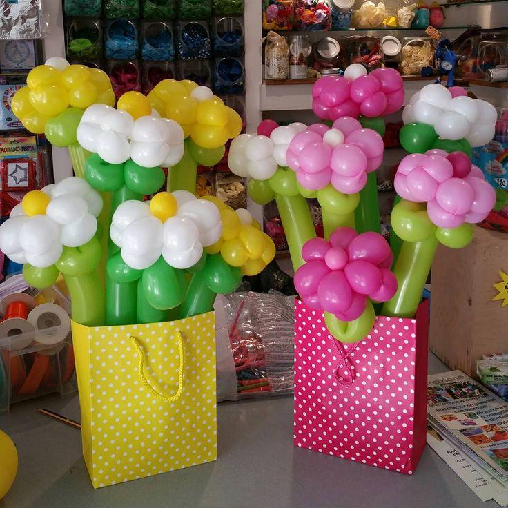 comunioni mazzo di fiori di paaloncini in busta a pois