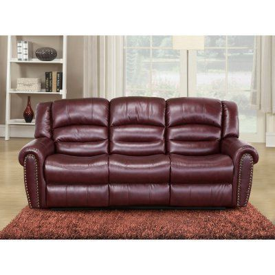 Sofa Cover Meridian Furniture Inc Chelsea Reclining Sofa Red