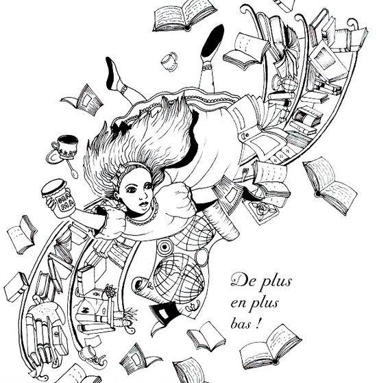 101 Best Images About Colorier Alice Au Pays Des