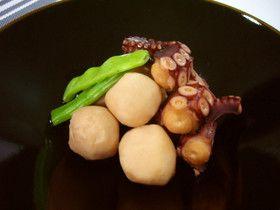 蛸と里芋の煮物
