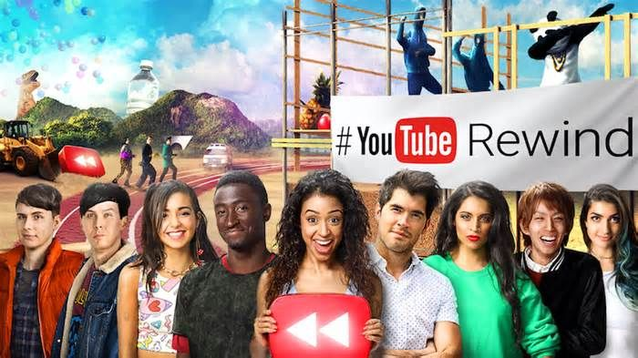 YouTube Rewind 2016 Video: James Corden, The Rock and More Celebrities Recap the Year #youtube #rewind #video #james #corden #celebrities…