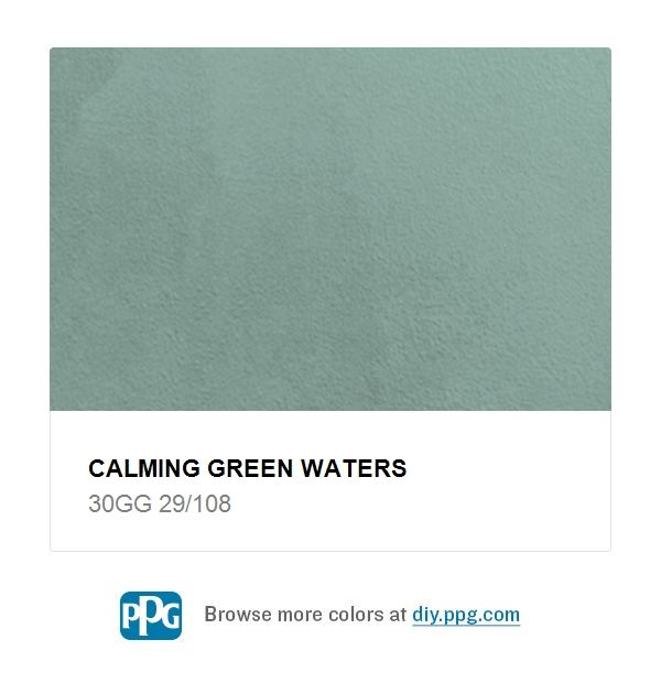 Explore Paint Color Calming Green Waters By Ppg Timeless Available At The Home Depot