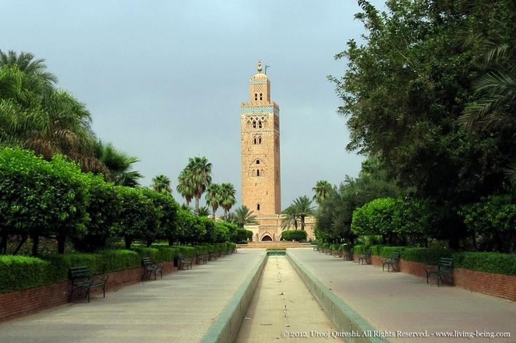 Koutoubia Mosque in Marrakech, #Morocco