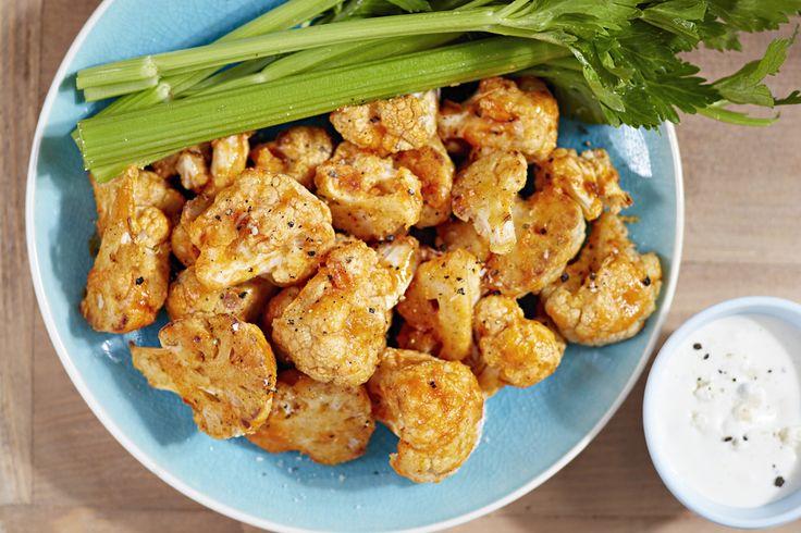 Amazing Crispy Cauliflower Wings by Katie Stewart