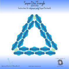 Superduo triangle ~ Seed Bead Tutorials