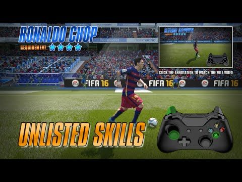 http://www.fifa-planet.com/fifa-tutorials/fifa-16-unlisted-skills-tutorial-xbox-360-xbox-one-pc/ - Fifa 16 Unlisted Skills Tutorial [Xbox 360, Xbox One, PC]  BUY A CHEAP GAMES https://www.g2a.com/r/maremas  Learn skills in fifa 16! A tutorial of unlisted skill moves for Xbox One, Xbox 360 and PC. If you like it click the LIKE button! Don't upload this video on other youtube channels, please respect my worlk. Thanks! The controls I show are... Cheap FIFA Coins: http://