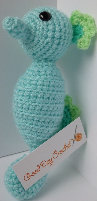 Ravelry: Crochet seahorse pattern by Good Day Crochet