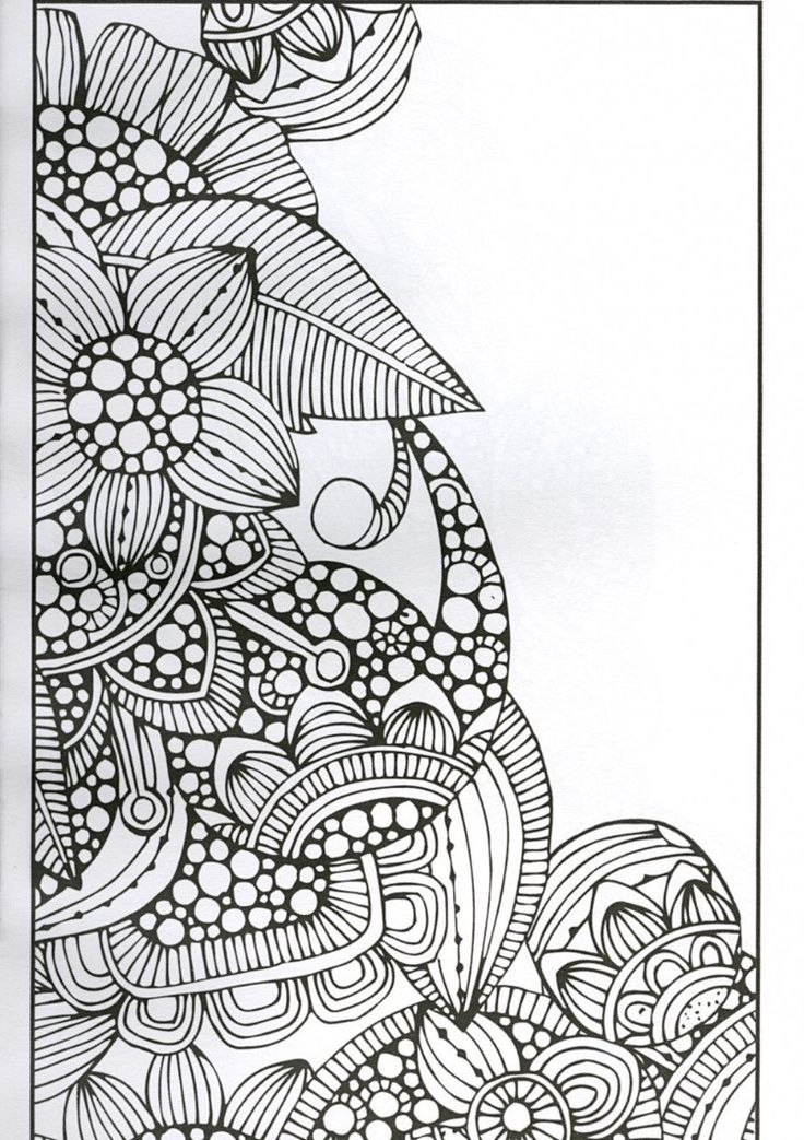 1000 Ideas About Flower Coloring Pages On Pinterest