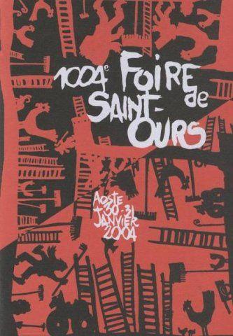 Valle d'Aosta - La Fiera di Sant'Orso (La Foire de Saint Ours) - Aosta - Manifesto 30/31 gennaio 2004