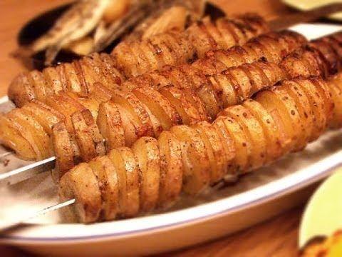 Восточная кухня. Картошка кебаб!