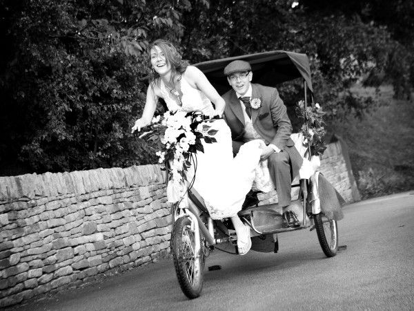 Would You Consider Something Like This For A Green Wedding Novel And Fun Rickshaw Alternative Transport