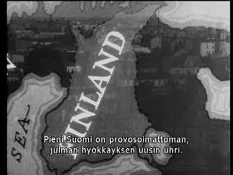 Talvisota- The Winter War ([Rare video] Friends of Finland) In 1939 American sympathy for Finland