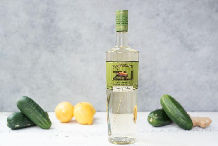 Pretty in Pistachio   Cucumber Cooler Recipe Featuring Zubrowka   Pretty in Pistachio