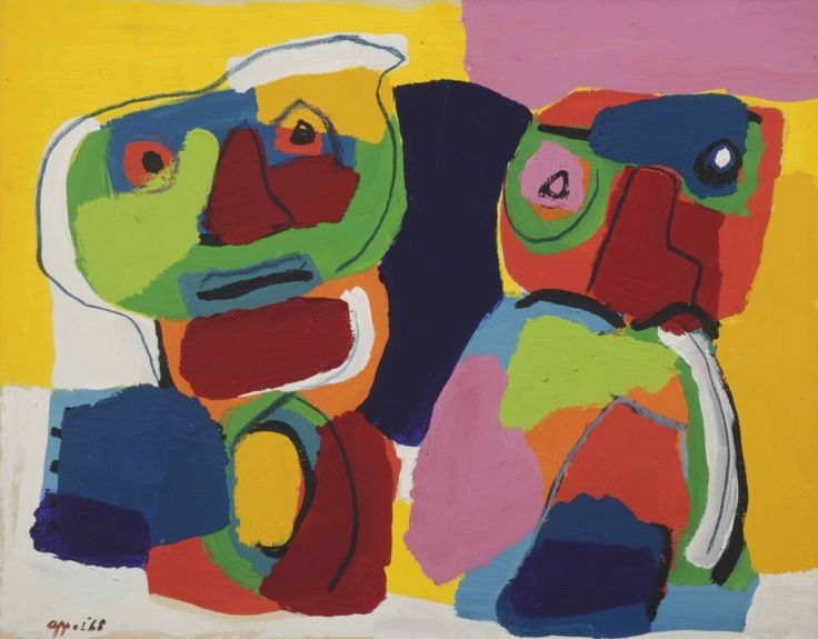 Two Children, Karel Appel