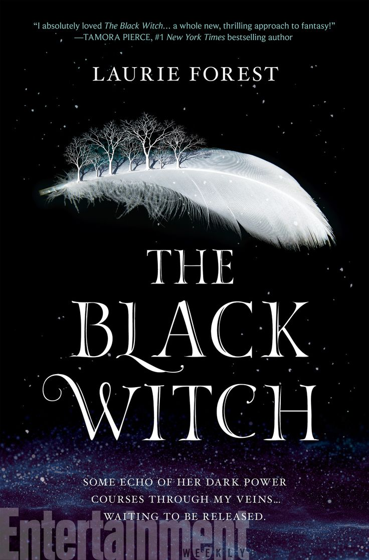 #CoverReveal The Black Witch (The Black Witch Chronicles, #1) by Laurie Forest