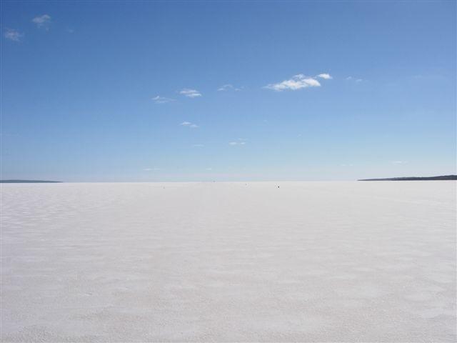 Lake Gairdner in South Australia.