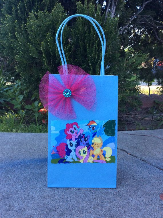 My Little Pony Birthday Party Candy Bags Favor Bags