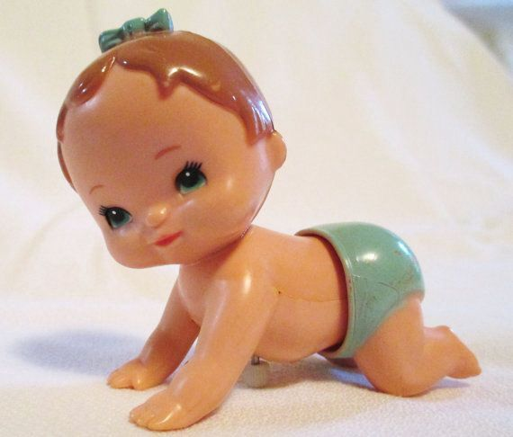 Wind-up baby by Tomy