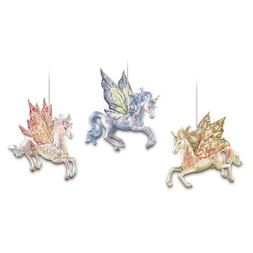 Christmas Ornament Set Champagne Variety 40 Ct : Best images about unicorns and horses on
