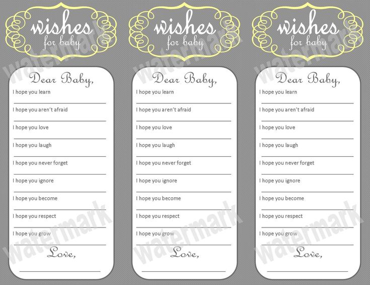 17 Best images about Baby Shower on Pinterest | Free printables ...