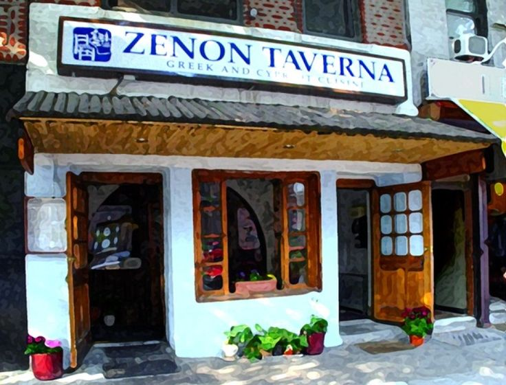 Zenon Taverna - Astoria, Queens. Some of the best Greek food I've ever had. (But I haven't been to Greece)