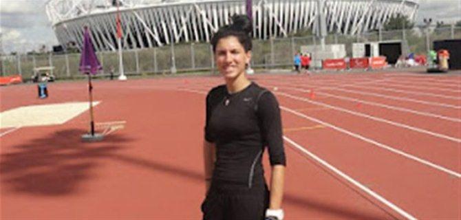 Η Στέλλα Σμαραγδή προκρίθηκε στον τελικό των 100 μέτρων στην κατηγορία Τ46.